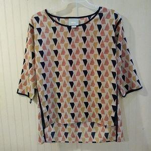 Maeve 3/4 sleeve blouse